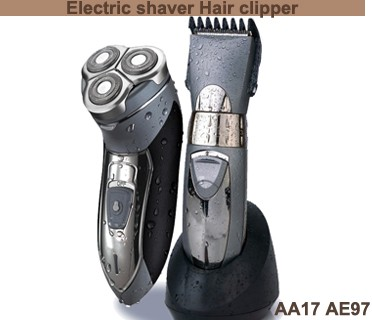 AA17 3D floating rotatory washable electric shaver Hair clipper