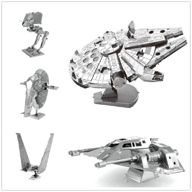 Приколы по Звездным Войнам: Металлические модели