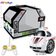 New design funny 5CH alarm Stunt CAR Two Wheels RC mini racing car toy