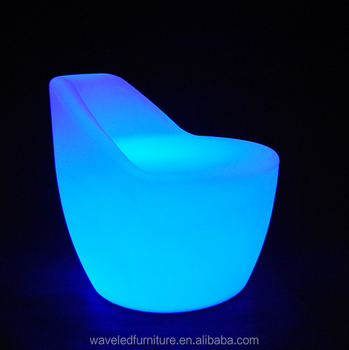RGB colorful led bar chair with remote control for sales