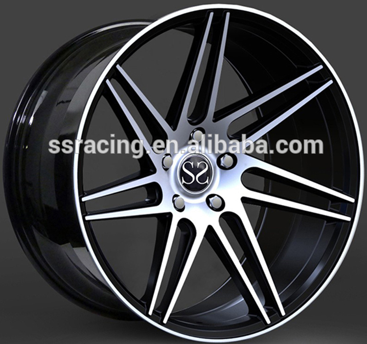 "18"" 19"" and 20"" black machined concave forged alloy <strong>wheels</strong>"