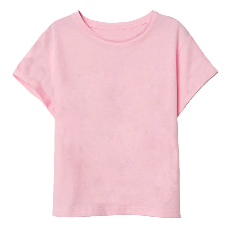 New Boys T Shirt Casual T Shirt Kids 100% Cotton Summer Children Solid Girls Tops Baby Clothes  t-shirt boys