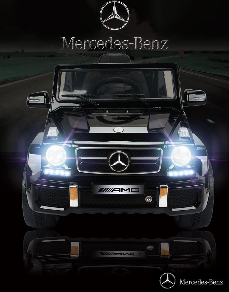 Mercedes benz g63 12v battery powered kids ride on car for Mercedes benz battery warranty