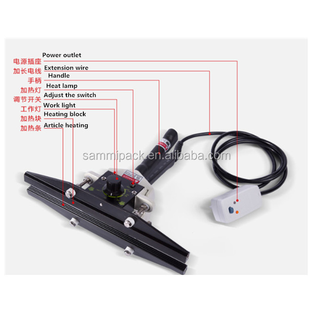 Good performance low price hand sealer FKR-300