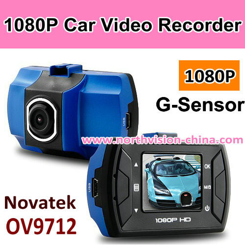 1080p full HD car black box with g-sensor, support 32GB tf card, loop recording