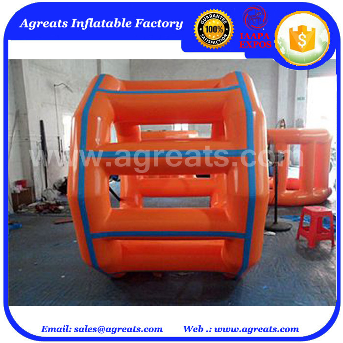 large inflatable water toys, inflatable water wheel roller GW7010