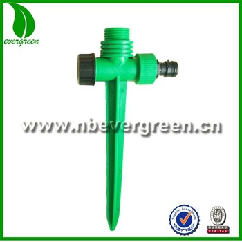 Garden Water Sprinkler Irrigation System Plastic Watering Garden Sprinkler  Spike