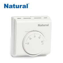 Mechanical high and low temperature limiter thermostat