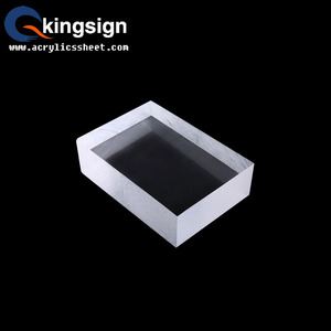 Kingsign 8mm transparent acrylic sheet scrap