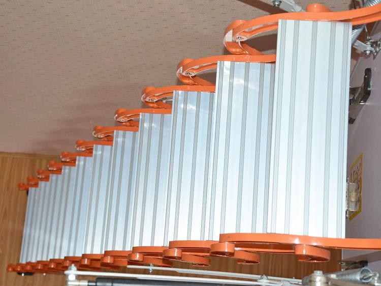 Attic Lifts Telescopic Retractable Aluminium Household