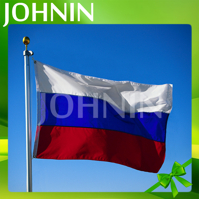 hot selling 2018 World Cup White Blue Red Russian Federal Soccer Flag