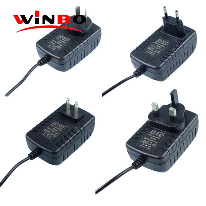 AC Adaptor Output 4.5V 5V 5.2V 5.9V 6V 6.5V 8.4V 9V 9.5V 12.6V 14.4V 24V 400ma 1A 1.5A 2A 2.5A 3A ac dc switchihng power adapter
