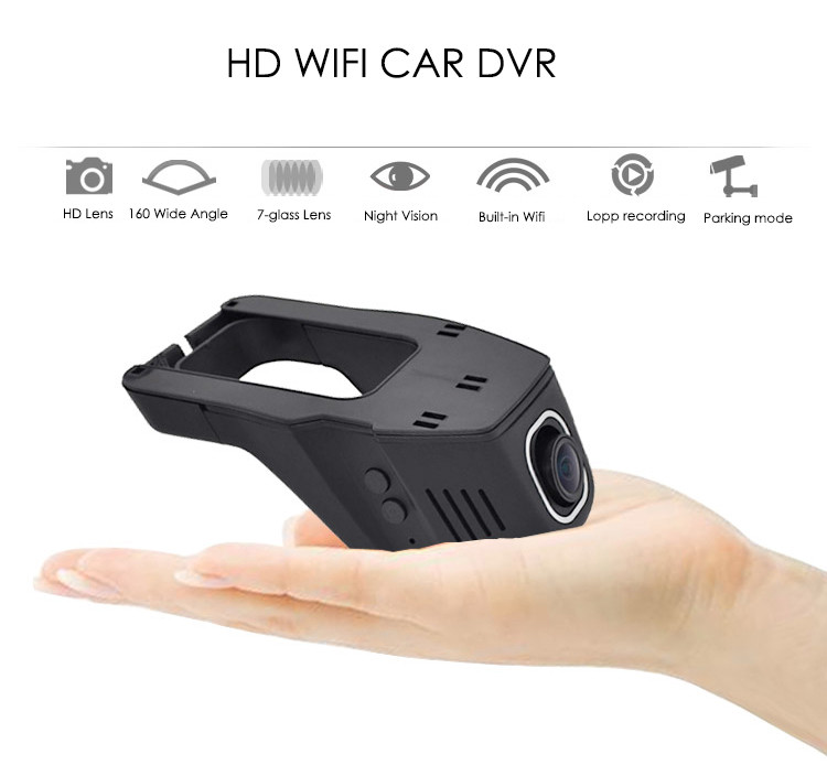 Car DVR Camera Video Recorder Universal DVRs Dashcam Novatek 96658 Wireless WiFi APP Manipulation Full HD 1080p <a href=http://www.szharrison.com/product/170degree-Wide-Angle-Dual-Lens-Car-DVR-Camera.html target='_blank'>Dash cam</a>