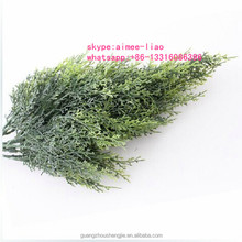Q071569 add UV material decorative artificial pine and cypress tree branches and leaves