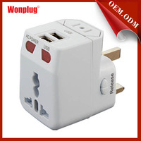 Wonplug item north american to european us to eu with CE&ROHS