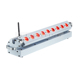 Battery Powered 9*18W RGBWA UV 6in1 DMX Bar Led Wall Washer With Remote Control