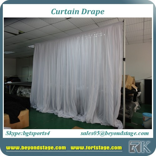 Hot Sale Black Stage Curtain Drape With Velvet Drapes With 100 ...