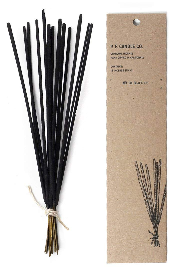 P.F. Candle Co. No. 28: Black Fig Incense (2-Pack)