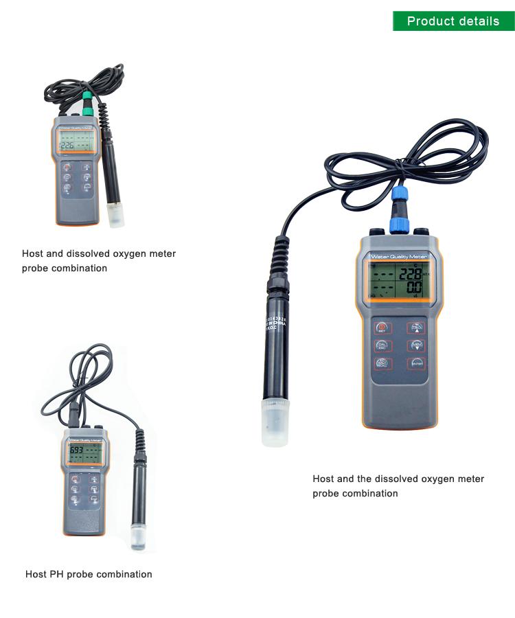 Water Measuring Instrument Multiple Parameters Display Dissolved ...