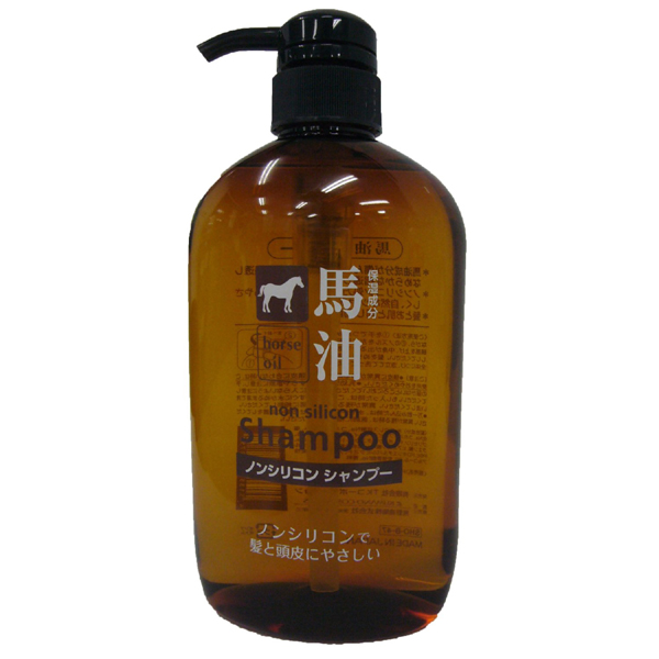 Moisturizing Horse Oil Shampoo 600ml Made in Japan
