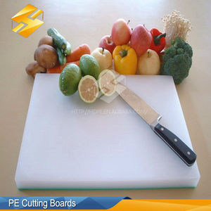 PE Antimicrobial Kitchen Cutting Board Blank With Weight For Cheese