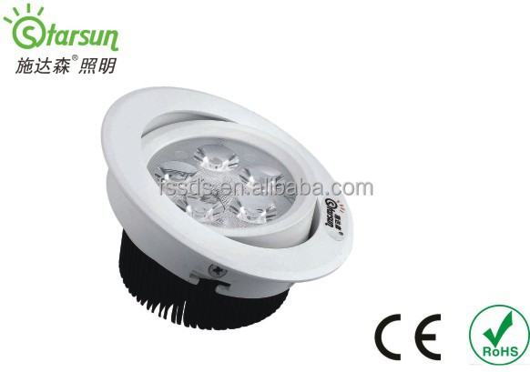 True color European standard LED 3W decorative ceiling light for any industrial use with dimmable function option