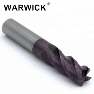 CNC end mill and 4 flutes Solid carbide end mills