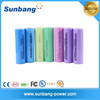 high quality rechargeable long lasting electronic cigarette battery 18650 3.7v 2600mah battery