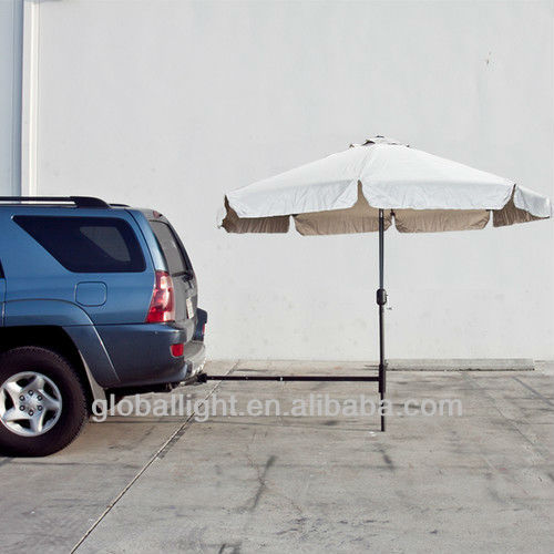 Tailgate Camping Outdoor Hitch Umbrella Stand