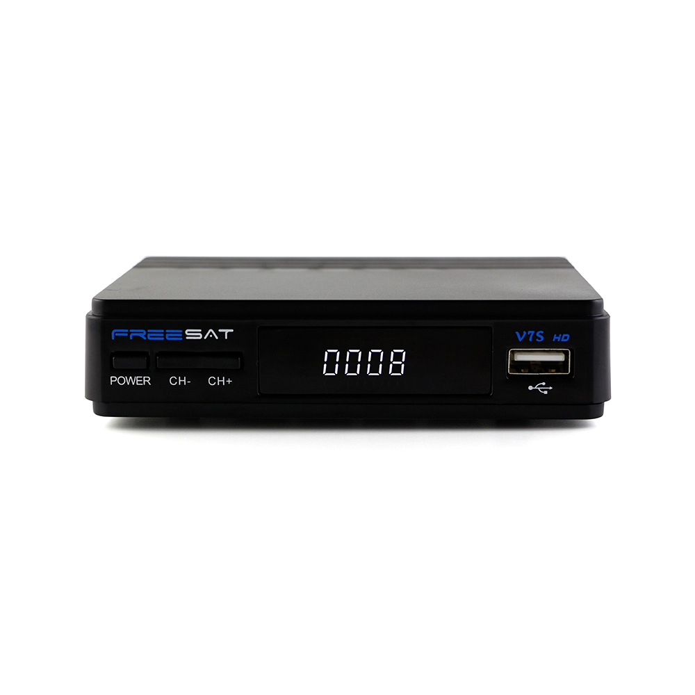 2018 Freesat Newest V7 Hd Upgrade Version Dvb-s/s2 Mpeg4 Mini Montage Box  Download Satellite Receiver Software Through Usb - Buy Download Satellite
