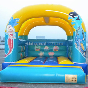PVC Vinyl durable inflatable bouncers, jumping moon bouncer B1164