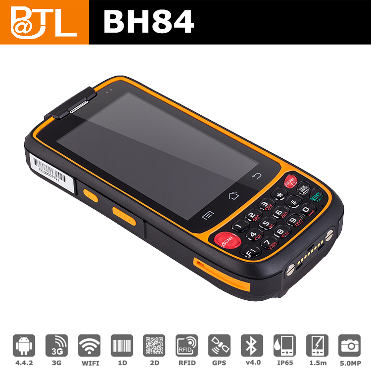 GA BATL BH84 PSAM 5200mAh Battery best mobile computer 2d barcode scanner 3g , warehouse tracking phone