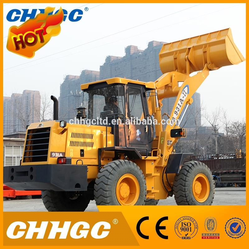 1.7 m3 125HP China Wheel Loader For Sale with Advanced Engine