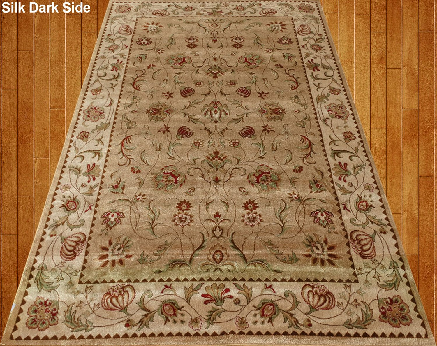 Buy Silk Traditional Area Rug Sage Green Rug 2x8 Rug Silk