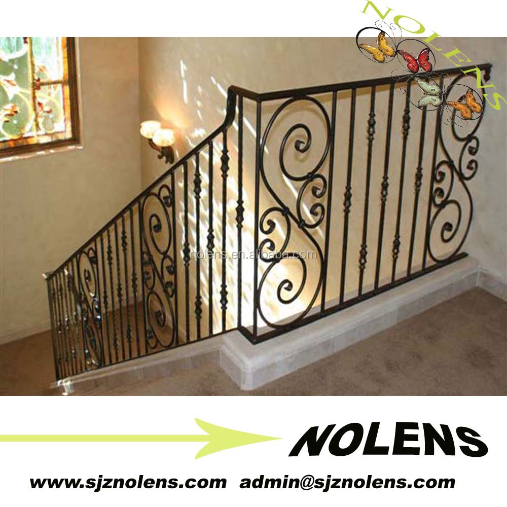 Wrought Iron Stair Railing Panels, Wrought Iron Stair Railing Panels  Suppliers And Manufacturers At Alibaba.com