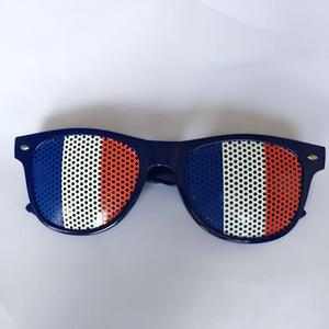 China factory professional in Pinhole sticker glasses of French Flag with very nice price and good quality can be small qty