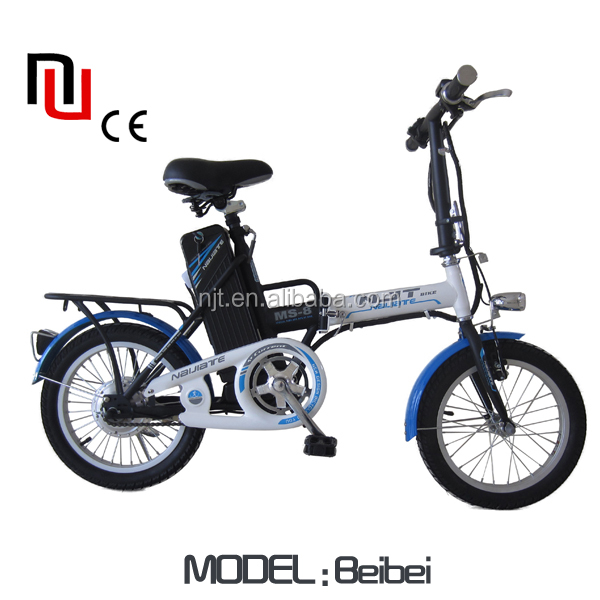 China Naijiate hot selling folding Electric bike
