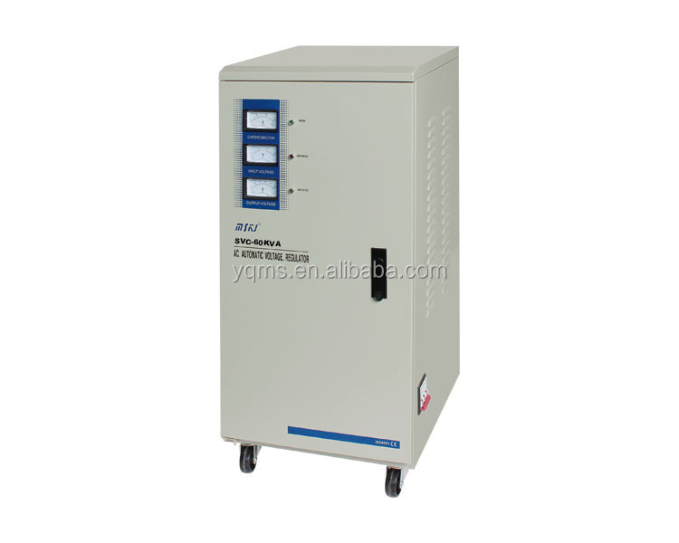 Servo Motor Automatic voltage regulator SVC(TND)single-phase high accuracy automatic control circuit AC voltage stabilizer