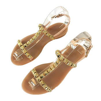 Mini HeLiSha classic style sandals for women and ladies latest design girls flat shoes