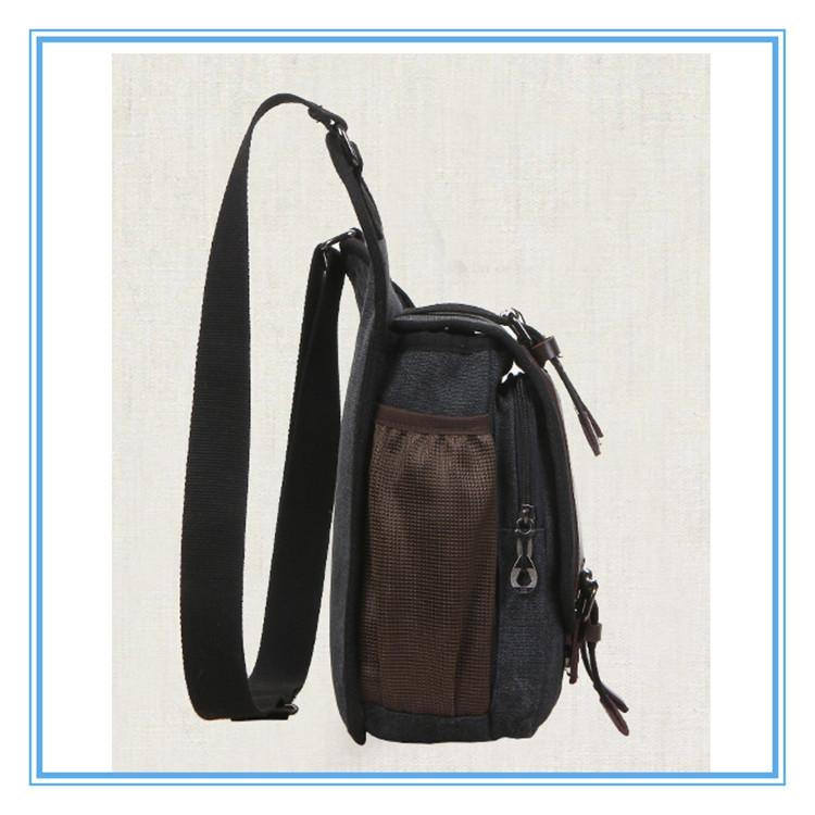 Mens Boys Vintage Canvas Shoulder Military Messenger Bag Sling ...