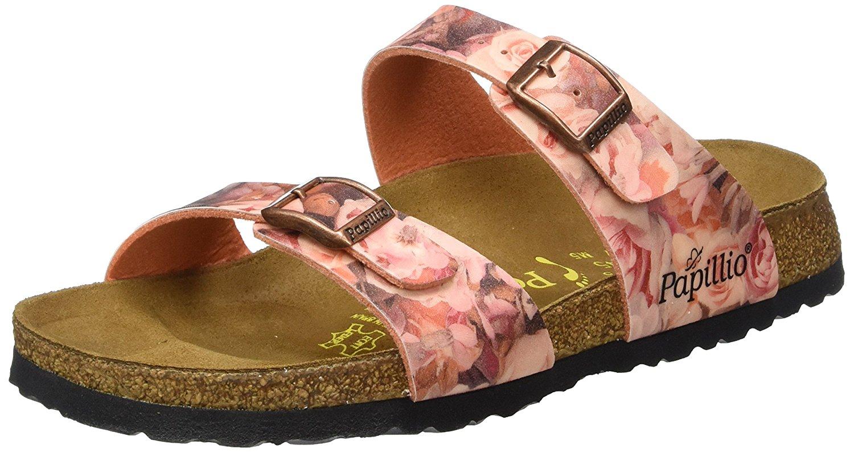 6002f6399bbd Get Quotations · Birkenstock Sydney Birko-flor Silky Rose Womens Sandals