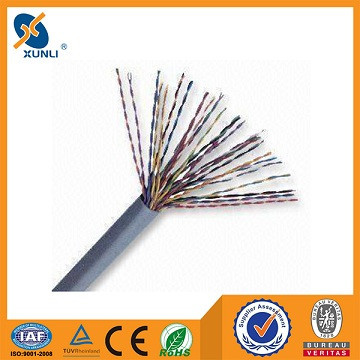 Bare copper cat3 50 pairs telephone cable