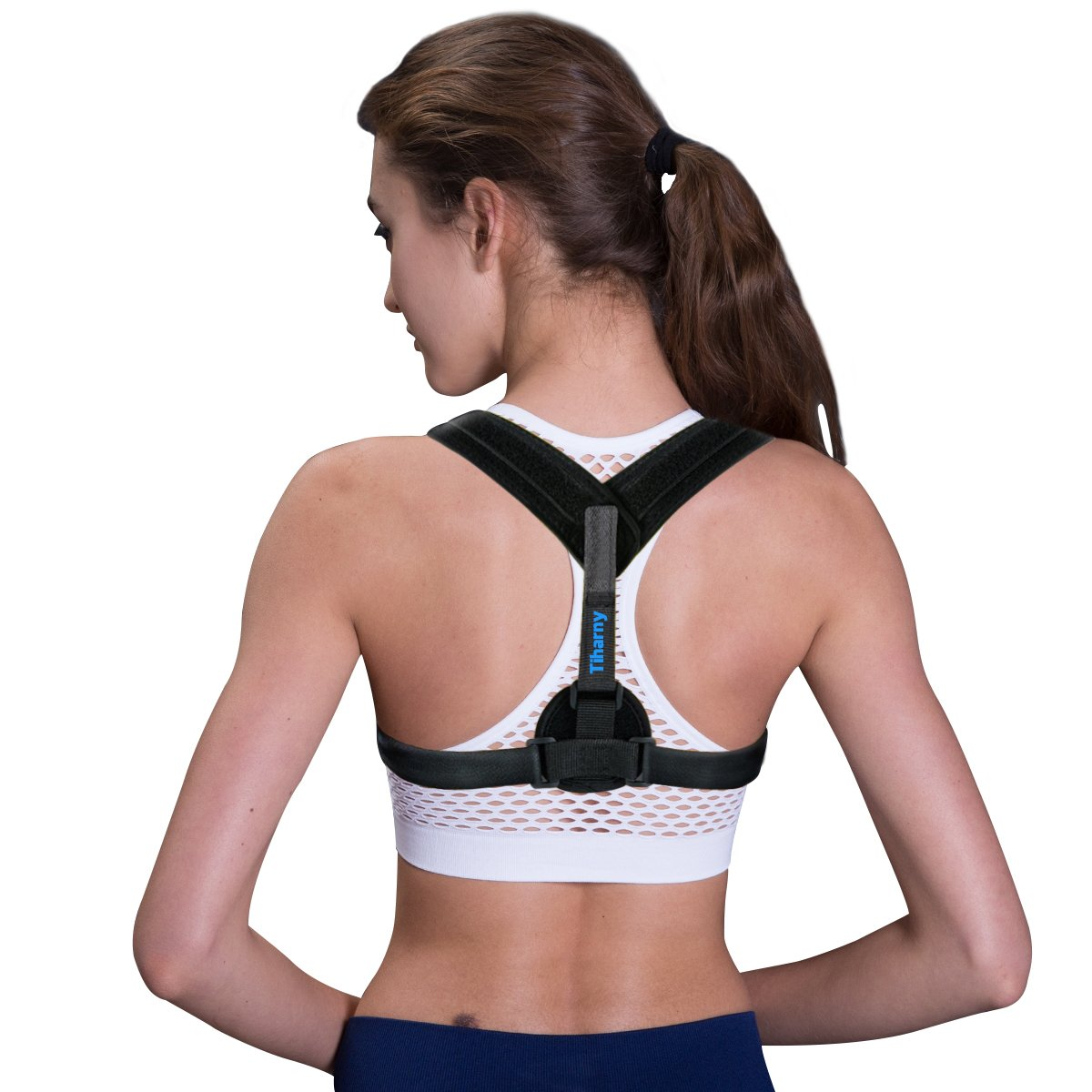 Cheap Physical Therapy Posture Correction Find Support Power Magnetic Back Corset Get Quotations Corrector Spinal Brace For Men Or Women