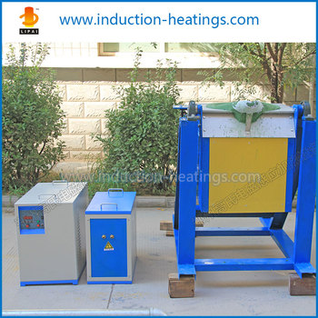 Professional Supplier of WH-VI-80 Induction Melting Automatic Tilting Furnace