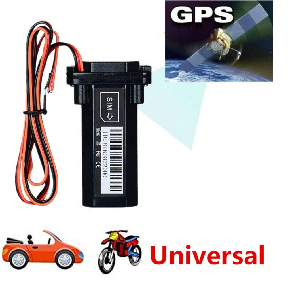 Locator,Tracking Device,Universal Waterproof Mini Builtin Battery GSM GPS Tracker For Car Motorcycle Vehicle for Vehicles No Monthly Fee,Keys,Cars, Kids, Persons,Travel,Key Finder,Smart Watcht (Black)