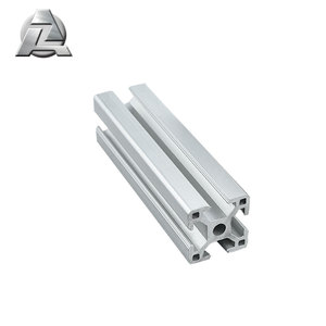 3030A silver 8 TYP aluminum extrusion 6063 T5 t slot channel for Material Shuttles