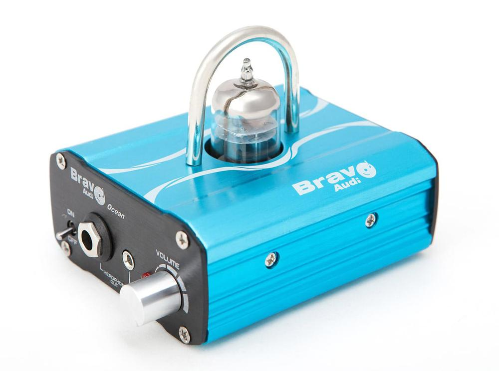 Bravo Audio V2 Class A 12AU7 Tube Amp Multi-Hybrid Headphone Amplifier