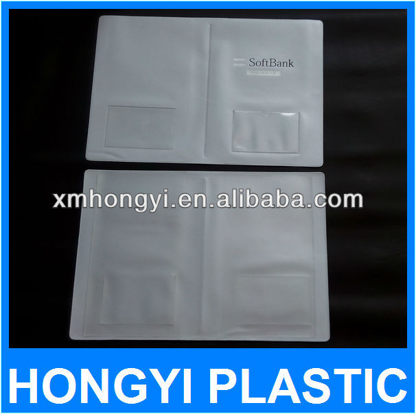 china factory plastic bank file wallet