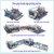 JFDR-12 Glass double round edger global machinery company with CE