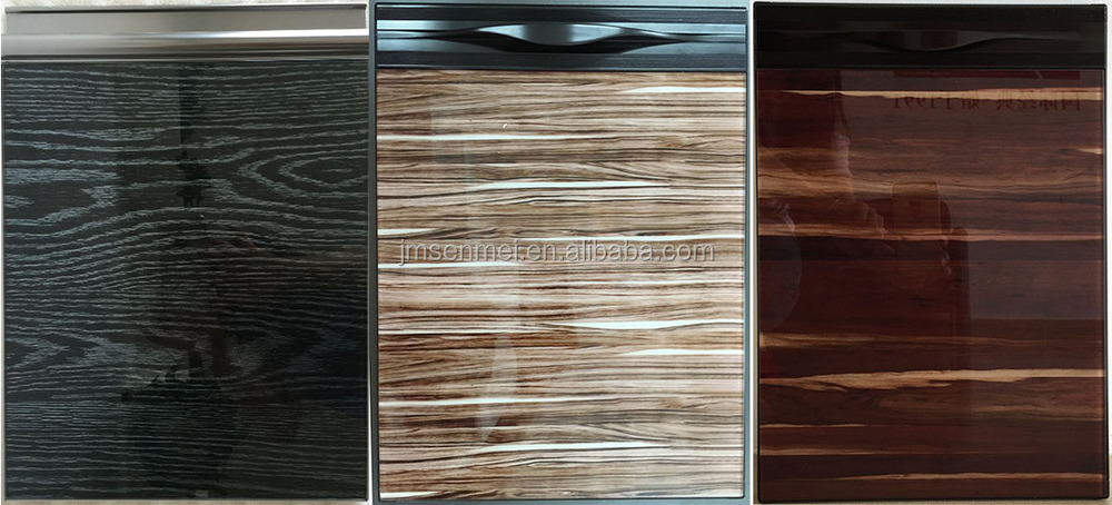 Fashionable Sliver Walnut Veneer And Lacquer White Door Affordable ...